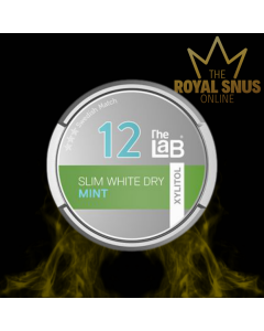 The Lab 12 Mint Slim White Dry