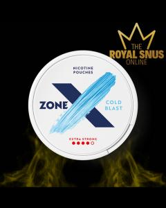 ZoneX Cold Blast Extra Strong Slim All White, زون إكس كولد بلاست قوي للغاية نحيف أبيض بالكامل
