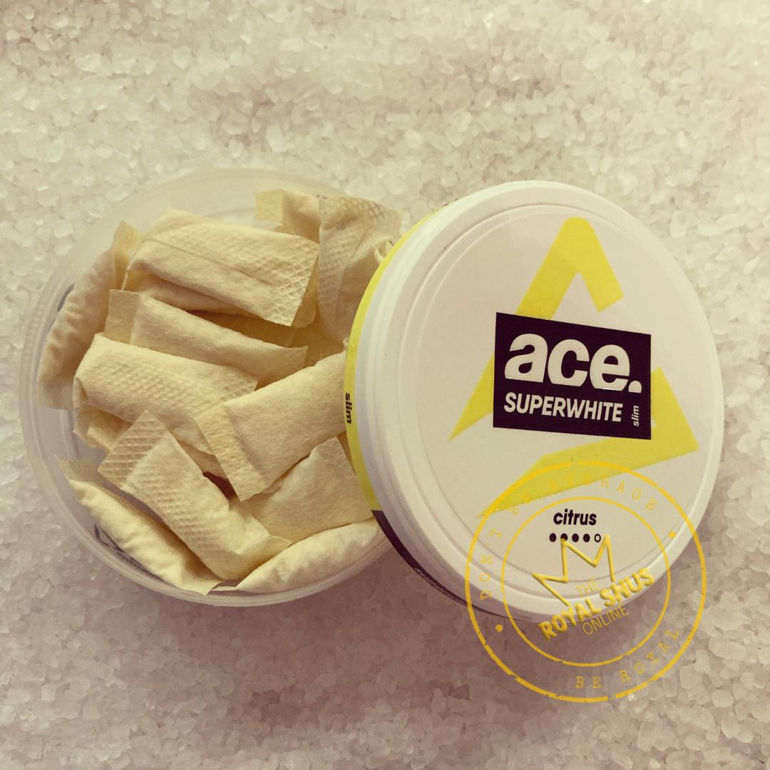 ACE SUPERWHITE CITRUS All White