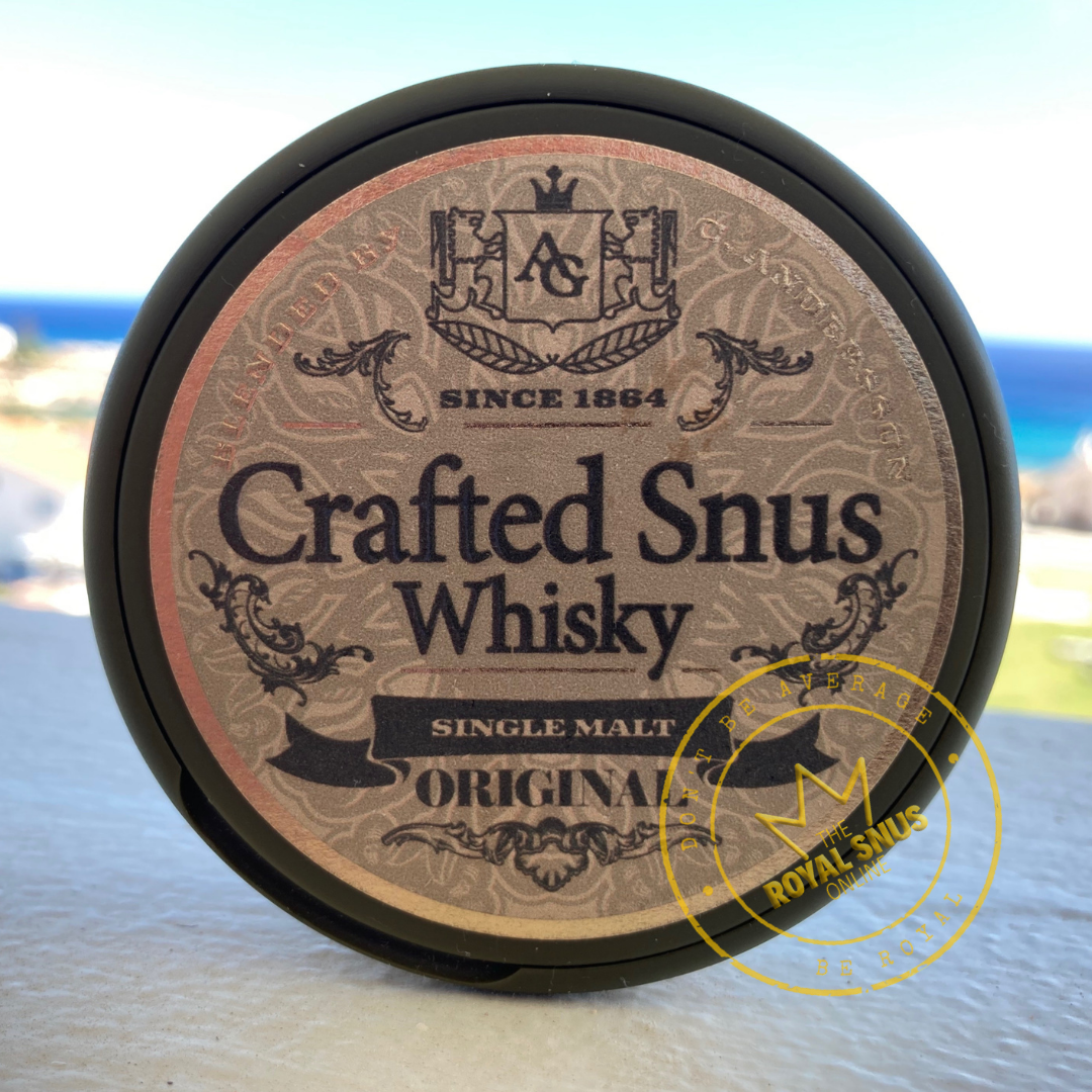 Conny Andersson Crafted Snus Whisky