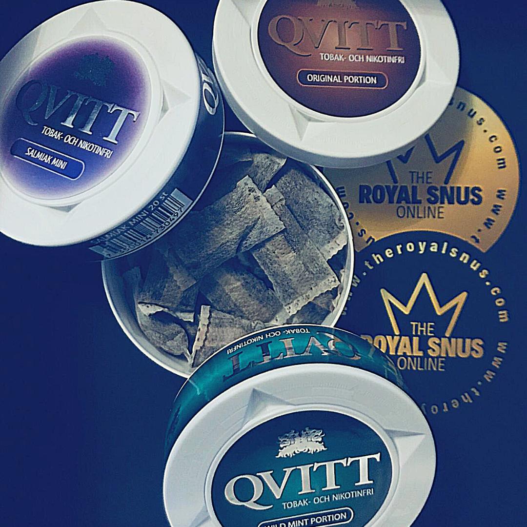 QVITT Nicotine Free Snus