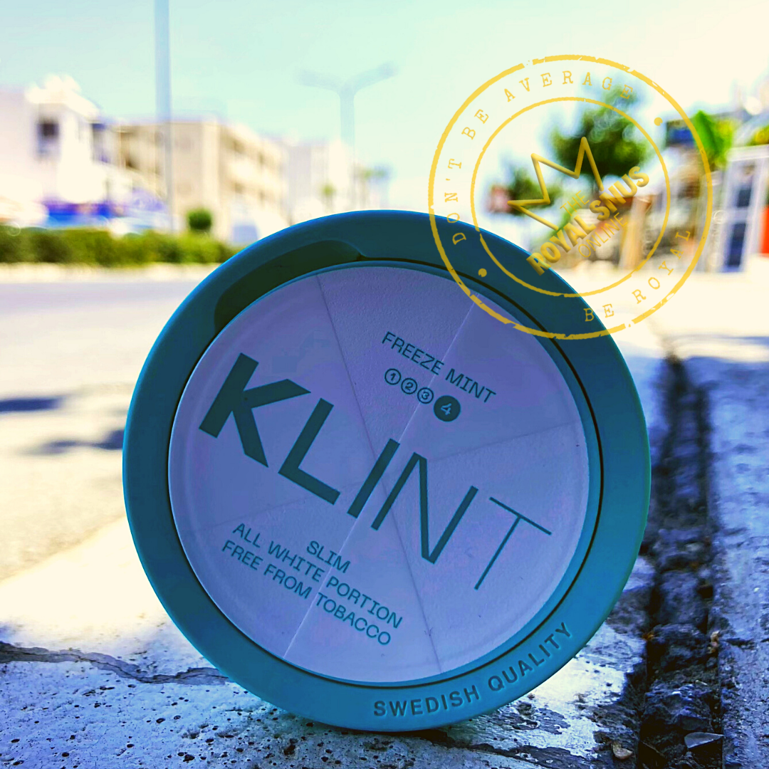 KLINT Freeze Mint Slim All White
