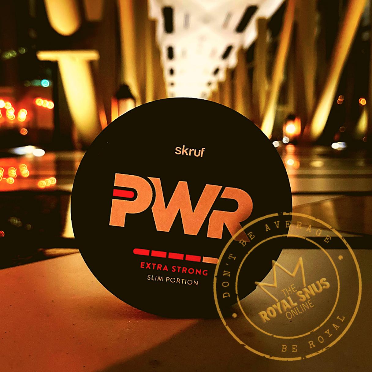 Skruf PWR Extra Strong Slim Portion